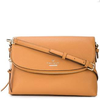 Kate Spade foldover logo shoulder bag
