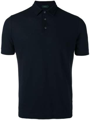 Zanone short sleeve polo shirt