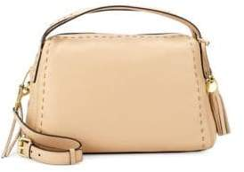 Cole Haan Ivy Pic Stitch Leather Satchel