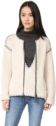 One Teaspoon Bear Creek Knit Sweater $218 thestylecure.com