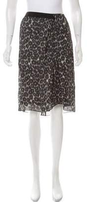 Marc Jacobs Floral Print Knee-Length Skirt w/ Tags