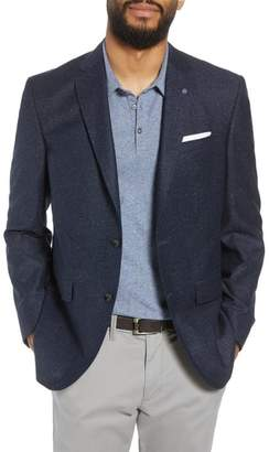Ted Baker Jay Trim Fit Tweed Wool & Silk Sport Coat