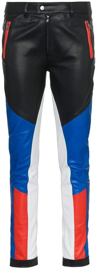 TOMBOY Assen skinny leather trousers