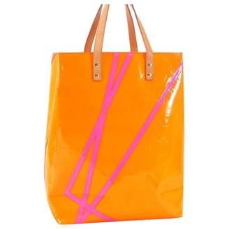 Louis Vuitton Vintage Orange Patent Leather Handbag
