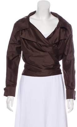 Lafayette 148 Lightweight Long Sleeve Jacket