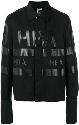 Hood by Air logo printed jacket