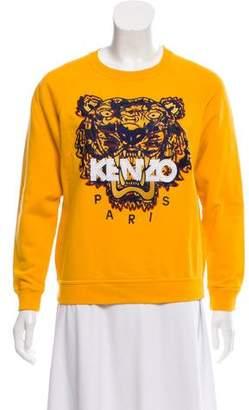 Kenzo Crew Neck Long Sleeve Sweatshirt
