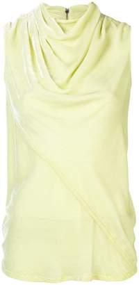 Rick Owens cowl neck blouse