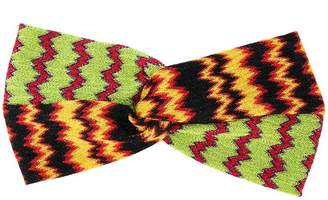 Missoni zig-zag knitted hairband