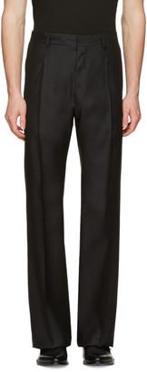 Dsquared2 Black Wide-Leg Trousers $1,130 thestylecure.com