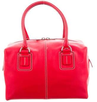 Tod's Convertible Leather Satchel