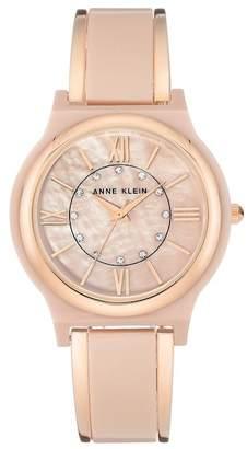 Anne Klein Women's Crystal Bracelet Watch, 36mm