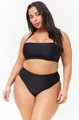 Forever 21 Plus Size High-Waist Bikini Bottoms