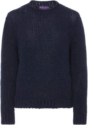 Ralph Lauren Rolled Cable-Knit Sweater