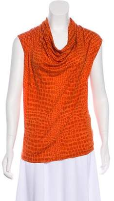 MICHAEL Michael Kors Jersey Sleeveless Top