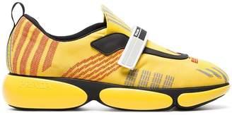 Prada Yellow Cloudbust nylon sneakers