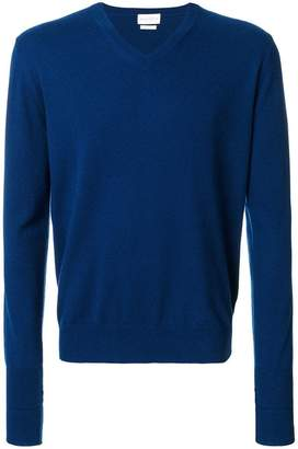 Ballantyne classic v-neck jumper