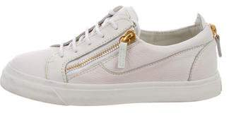 Giuseppe Zanotti Leather Low-Top Sneakers