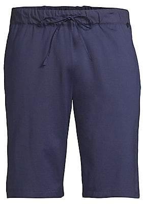 Hanro Men's Night& Day Cotton Knit Shorts
