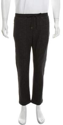 Dolce & Gabbana Wool-Blend Striped Pants