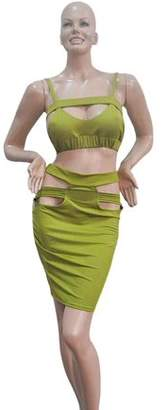 facetosuns Women Slim Fit Fashion Bodycon Party Backless Dress Evening Bandage Dress