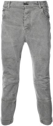 The Viridi-anne cropped panelled trousers