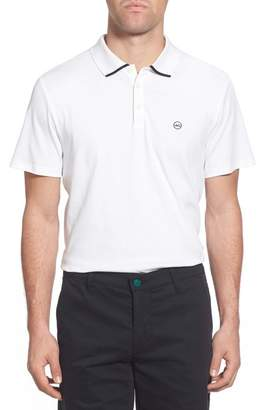 AG Jeans Green Label 'The Fade' Short Sleeve Cotton Polo