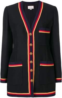 Gucci tweed cardigan jacket