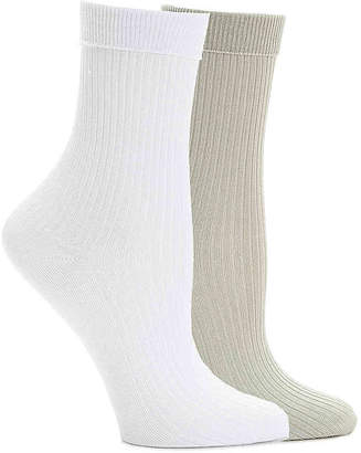 Mix No. 6 Nylon Cuff Ankle Socks - 2 Pack - Women's