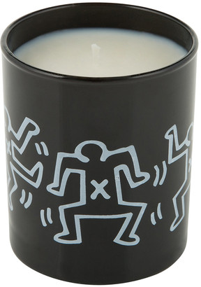Keith Haring Ligne Blanche Scented Candle - Men Drawing - Ginger, Saffron & Musk