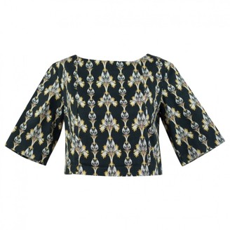 Suno Black Cotton Top for Women