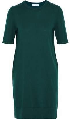 Equipment Cotton And Cashmere-Blend Mini Dress