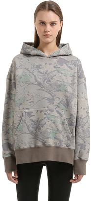Boxy Fit Camo French Terry Sweatshirt $375 thestylecure.com