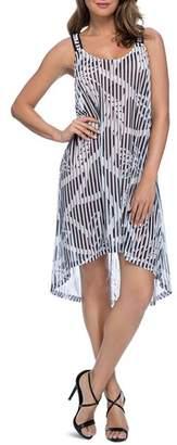 Gottex Bamboo Mesh Dress Swim Cover-Up