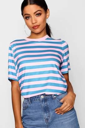 boohoo Stripe T-Shirt