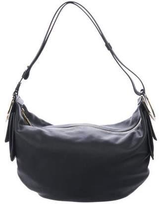 Salvatore Ferragamo Leather Convertible Hobo w/ Tags