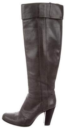 CNC Costume National Leather Knee Boots