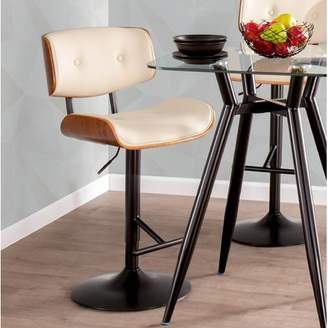 Wade Logan Arlon Adjustable Height Swivel Bar Stool