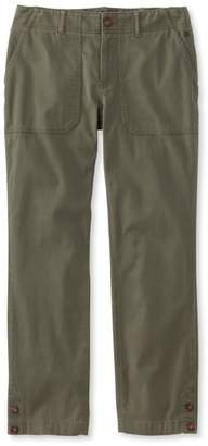 L.L. Bean L.L.Bean Essential Utility Chinos, Favorite Fit Cropped