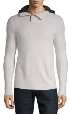 Warwick Hooded Wool Sweater