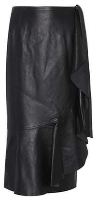Helmut Lang Leather skirt