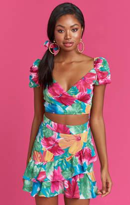 Show Me Your Mumu Tutti Crop Top ~ Malibu Barbie Pebble