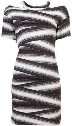 Nicole Miller bandage stripe dress 40e0484f6