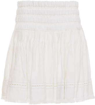 Sea Izzy Linen Mini Skirt