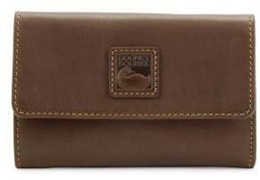 Dooney & Bourke Florentine Leather Flap Wallet