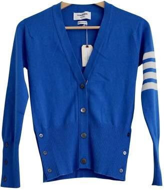 Thom Browne Blue Cashmere Knitwear