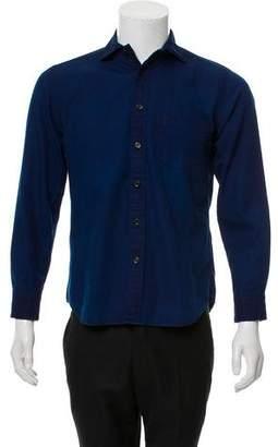 Blue Blue Japan Long Sleeve Button-Up Shirt