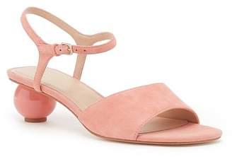 Pour La Victoire Dora Suede Sphere Heel Sandal