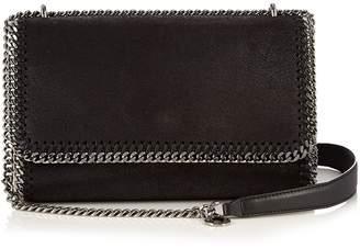 Stella McCartney Falabella faux-suede sliding shoulder bag