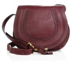 Chloé Medium Marcie Leather Saddle Bag